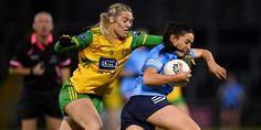 Dublin Ladies Footballers claim win amid the fireworks around Breffni Park