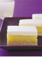 Lemon Marshmallow Slice love this slice