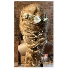 Bridal Hair, Dreadlocks, Hair Styles, Beauty, Hair Plait Styles, Hair Makeup, Hairdos, Haircut Styles, Dreads