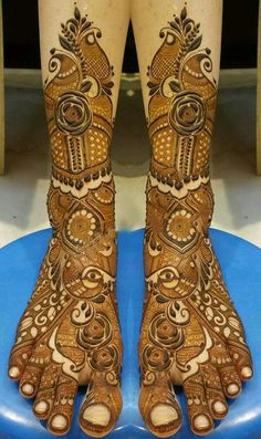 Bridal henna Leg Henna Designs, Khafif Mehndi Design, Mehndi Designs Feet, Indian Mehndi Designs, Mehndi Designs 2018, Modern Mehndi Designs, Mehndi Design Pictures, Beautiful Henna Designs, Beautiful Mehndi