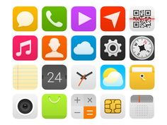 Android Launcher Icons Project Last 2014 on Behance