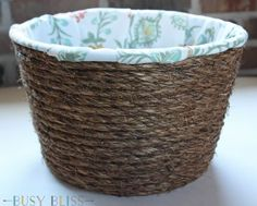 Do THIS to any Dollar Store basket and save so much money from Pier 1: