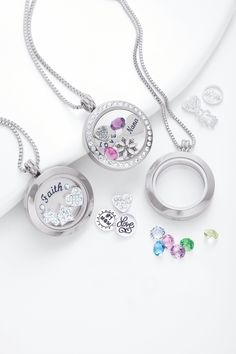 The Charming Lockets collections from Belk Silverworks is the perfect way to personalize your style  #BelkStyle #Lockets