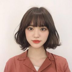 ideas haircut styles people for 2019 Asian Short Hair, Short Hair With Bangs, Asian Hair, Girl Short Hair, Hairstyles With Bangs, Short Hair Cuts, Korean Short Hairstyle, Short Hair Korean Style, Korean Haircut