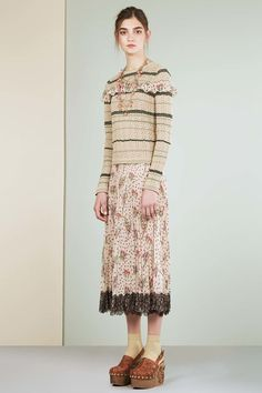 Catwalk photos and all the looks from Red Valentino - Pre Spring/Summer 2017 Ready-To-Wear London Fashion Week