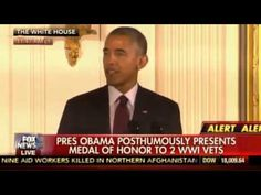 Obama SCOLDS America During Medal of Honor Ceremony