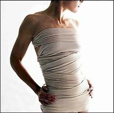 Slimming Body Wrap options. Maybe try 1/4c sea salt w/ 2 c hot water, add 1c green clay & 2 Tbsp olive oil or coconut oil