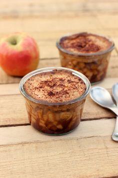 Grain-Free and Vegan Apple Cobbler In A Jar