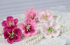Moja papierowa kraina: Kwiatki, kwiatuszki