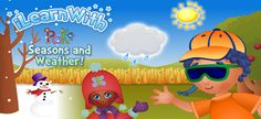 iLearnWith Poko: Seasons and Weather! (best educational Android apps for kids)