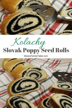 A Christmas Eve treat, these Kolachy are a traditional Slovak Poppy Seed Rolls. A supple dough rolled with a slightly sweetened poppy seed filling. Slovak Recipes, Czech Recipes, Hungarian Recipes, Hungarian Food, Ukrainian Recipes, Poppy Seed Filling, Poppy Seed Cake, Polish Desserts, Polish Recipes