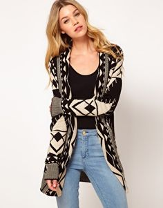 Aztek Cardigan. I wanted one if these last winter and didn't find the right one... But this is the winter, I can feel it!