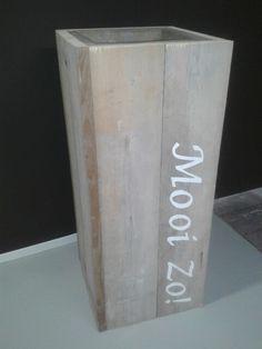 Plantenbak steigerhout Mooizo Harfsen