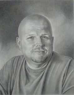 Portrait of David by Ann Timmerman