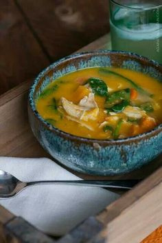 http://www.againstallgrain.com/2013/01/30/leftover-roast-chicken-soup-with-roasted-vegetables/