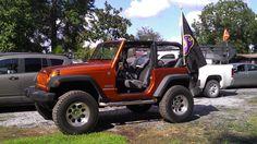 Photo of mango tango 2 door JK with mod wheels/rims & lift - Jeep Wrangler Forum