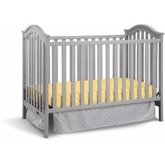 Graco Ashland Fixed-Side Convertible Classic Crib, Choose Your Finish