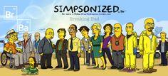 Promis sehen gelb | Simpsons Breaking Bad