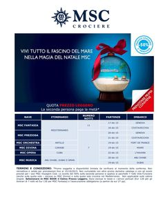 Christmas 2015 with MSC CRUISES