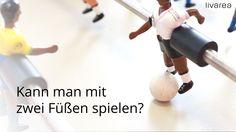 Kann man mit 2 Füßen spielen? RS Barcelona Fußballtisch  - Deutschland v... Living Products, Barcelona, Brazil, Playing Games, Football Soccer, Barcelona Spain