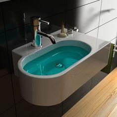 Waschbecken Gäste WC Waschtisch Handwaschbecken klein Badmöbel Tiefe 30 cm | eBay