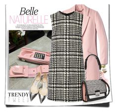 """Trendy Tweed"" by andrejae ❤ liked on Polyvore featuring Jill Stuart, Karl Lagerfeld, Jimmy Choo, women's clothing, women, female, woman, misses, juniors and trendytweed"