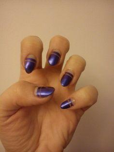 Navy blue stripes