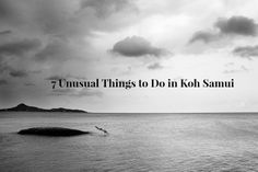 7 Unusual Things to Do in Koh Samui