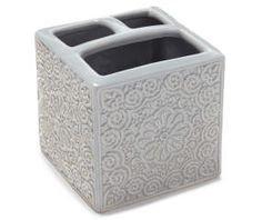 I found a Katrina Gray Toothbrush Holder at Big Lots for less. Find more Shower Curtains & Decor at biglots.com!