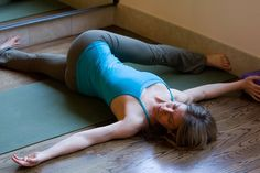 This pose can be done every single day, and it will decompress your back and lengthen your hamstrings, calves, strengthens your abdominals and back while stretching the chest, and for an added bonus, massages your internal organs!