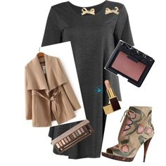 A fashion look from December 2014 featuring Burberry ankle booties. Browse and shop related looks.