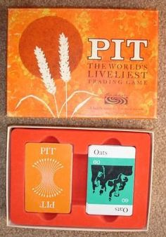 Pit trading card game. Remembering the 70's.