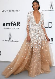 Chanel Iman attended amfAR's 22nd Cinema Against AIDS Gala at Hôtel du Cap-Eden-Roc on Thursday (May 21) in Cap d'Antibes, France. When starting my Models