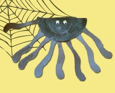 Paper Plate Spider Preschool Art Project