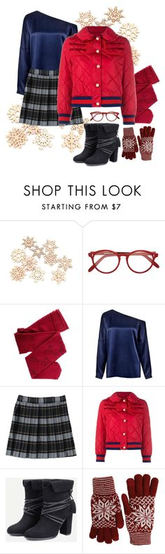 """chilly weather"" by georgia-grace-sheldon ❤ liked on Polyvore featuring Cutler and Gross, TIBI, French Toast, Gucci, Fits, contestentry and ChillyWeather"