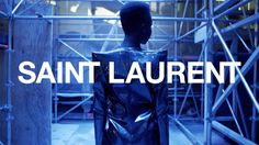Discover Anthony Vaccarello's Saint Laurent Fall/Winter 2017 campaign video filmed by Nathalie Canguilhem, with soundtrack created by Sebastian.  The video gets up close and personal with Vaccarello's muses Hiandra Martinez, Mica Arganaraz and Adut Akech, as well as male models Louis Marzin and Dalibor Urosevic.
