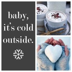 Wintercollage for engagement
