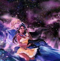 Pocahontas e John Smith