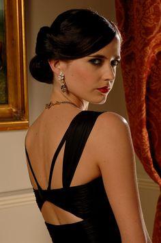 Eva Green - classic hair and makeup