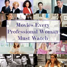 11 Movies Every Professional Woman Must Watch | Levo League | #movienight