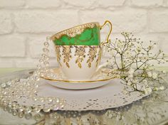 Vintage crockery available to hire from edencelebration.co.uk Weddings, special events and corporate parties.