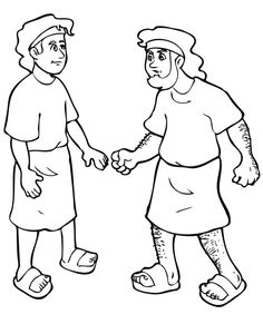 S Jacob And Esau Coloring Page 95 For Picture With