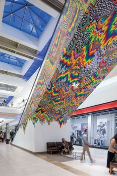Simply Amazing: 30 Global Retail Spaces | Firm: RTKL; KA, Inc. Project: Fashion Outlets of Chicago. Location: Rosemont, Illinois #design #projects #retail