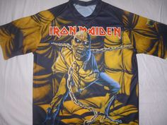 Iron Maiden Piece of Mind Bruce Dickinson all over print sublimated t-shirt #REBELSshirt #ShortSleeve