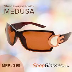 Look absolutely #stunning with this pair of #gorgeous #shades. Pick this pair from http://www.shopglasses.co.in/shopglasses-medusa-rectangle-sunglass-ks337bc61/