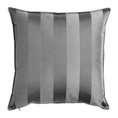 IKEA - HENRIKA, Cushion cover, The zipper makes the cover easy to remove.Choose between a feather- or polyester-filled inner cushion.