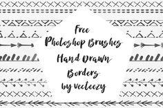 DLOLLEYS HELP: Free Hand Drawn Photoshop Brush Borders