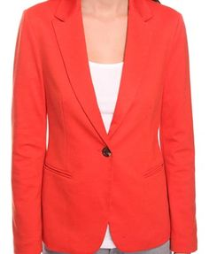 Coral blazer $27.80. Replace cheap buttons on cheap blazers and BAM! you have a pricier looking blazer for 1/4 of the cost.