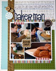 Baker Man **Bella Blvd** - Scrapbook.com