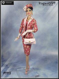Tenue Outfit Accessoires Pour Barbie Silkstone Vintage Fashion Royalty 1113 | eBay